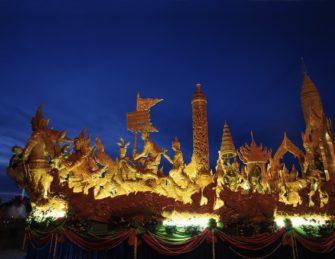タイ3大祭りの1つ「ウボンラーチャターニー・キャンドルフェスティバル」