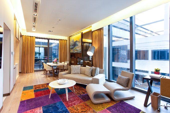 One Farrer Hotel & Spa_Peony - Living_Fotor