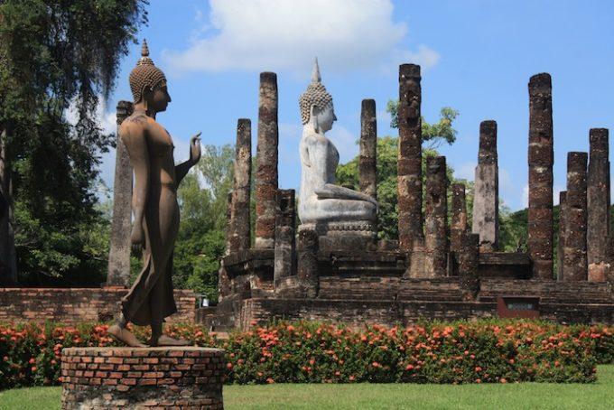 美しい仏像に会いに行こう!世界遺産スコータイでオススメの寺院
