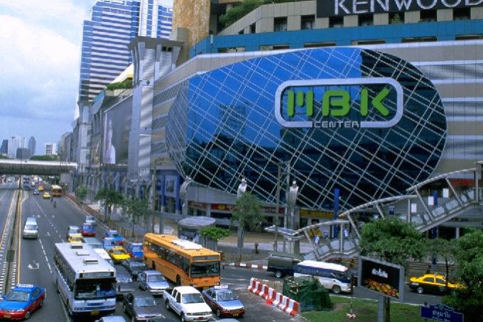 バンコクの巨大ショッピングセンターMBKでお買い物
