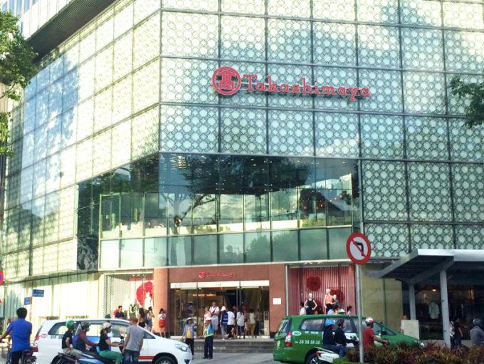 ホーチミンに「高島屋」をメインとしたショッピングセンターが誕生
