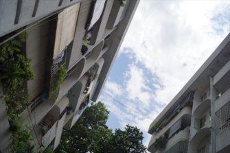 まるで箱庭?チュンクー(団地)で眺めるベトナムローカルの暮らし