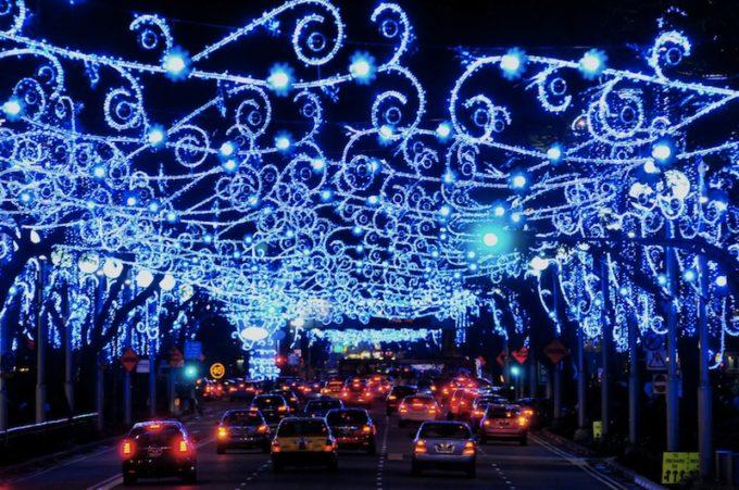 シンガポール最大のクリスマスイルミネーション「オーチャードクリスマス2016」