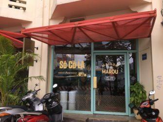 ベトナムの高級チョコレートブランド「MAROU」の直営カフェ
