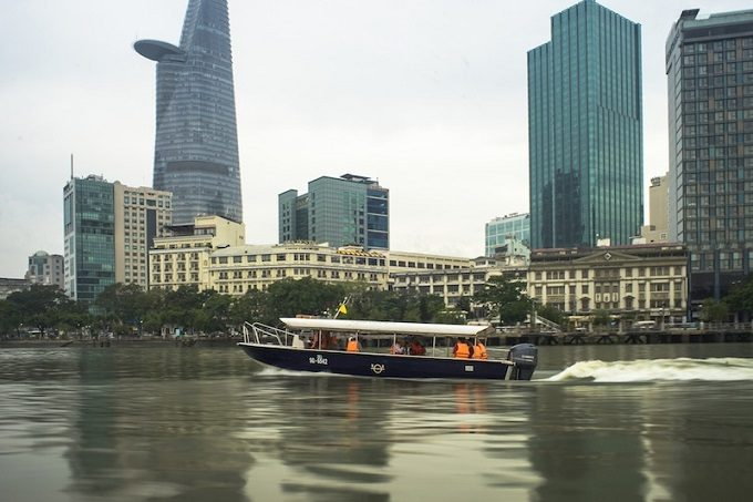 Les Rives - I - Saigon River