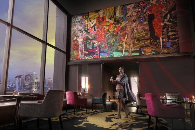 クリスチャン・ラクロワ氏プロデュースのホテル「SOソフィテルバンコク」