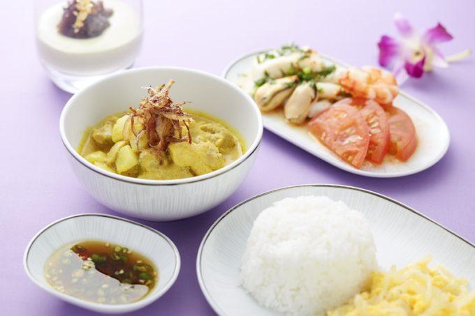 Thai_set_Chicken yellow curry
