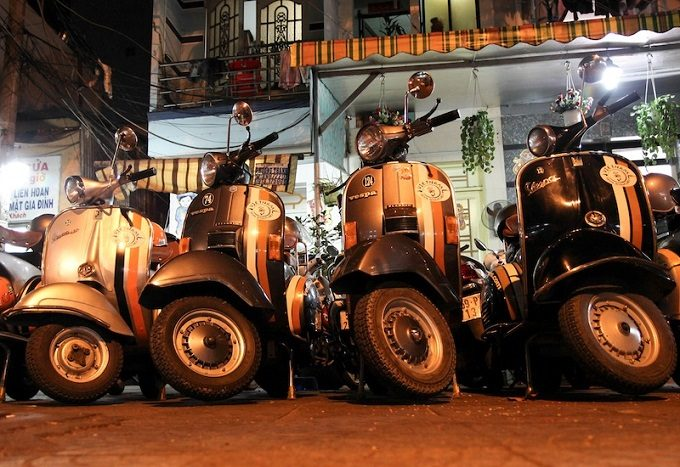 Vespa Adventures - Saigon After Dark - III
