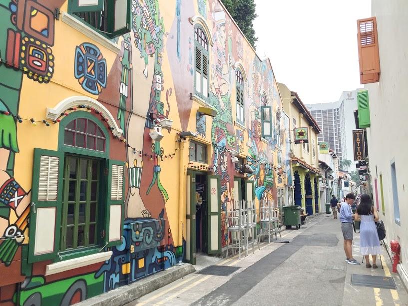 シンガポールのオシャレな路地「ハジレーン」を探検しよう!