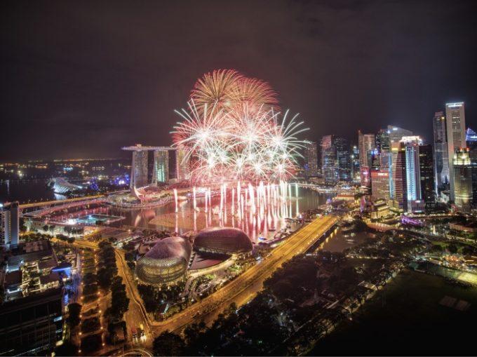 シンガポールでニューイヤーをお祝い!「マリーナベイ・カウントダウン2017」