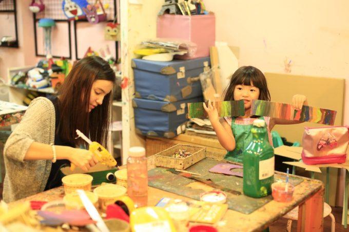 子供に生きた英語を学ばせる!クアラルンプールのアートクラフト教室