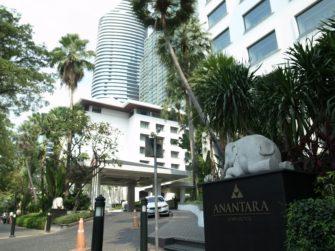 「アナンタラ・サイアム・バンコク・ホテル」でアフタヌーンティーブッフェ