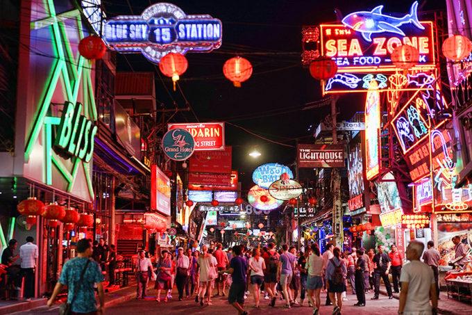 タイビーチリゾートの老舗、パタヤの歴史