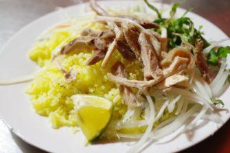 裏路地の名店で食す、ホイアン名物料理「コムガー」