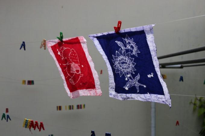 インドネシア伝統のバティック(ろうけつ染め)をジャカルタで体験