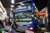 楽々、バンコクから国際バスで行くラオス