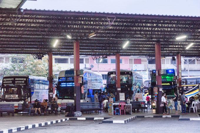 タイの長距離バスをネットで予約する!