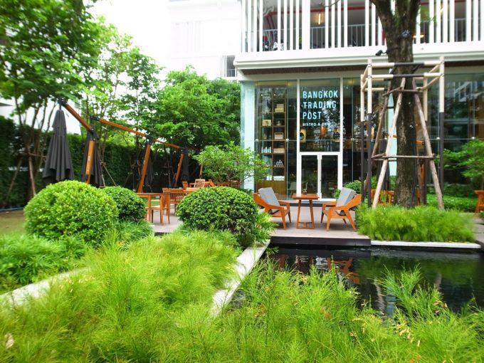 緑豊かで開放的な一軒!最先端デザインホテルのカフェ・レストラン