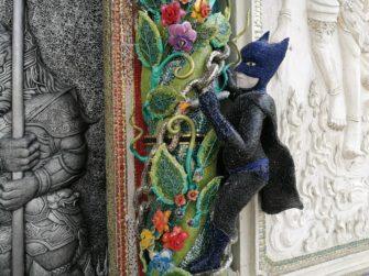 見覚えのあるキャラクターがあちこちに!?バンコクのユニークな寺院