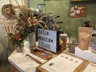 ドライフラワーショップを併設したジャカルタの素敵カフェ