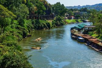 バンコクからぶらり旅 ~旧泰緬鉄道のハイライトを巡る〜