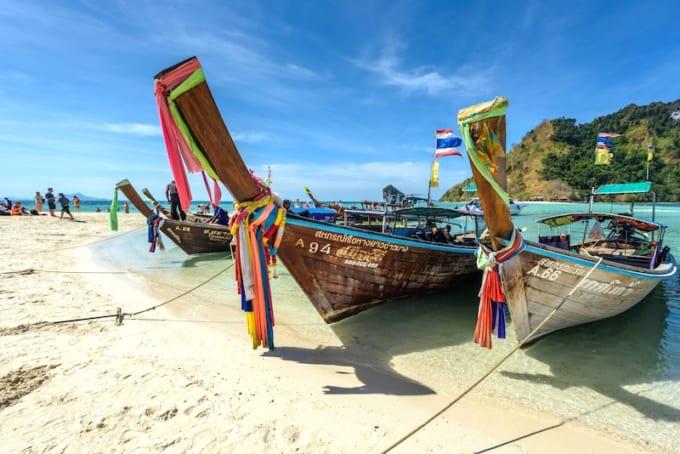 タイ北部から一路、タイ南部のクラビへ!自然のダイナミズムを感じる旅