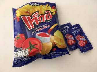 タイで大人気!カルビーのスナック菓子はディップして食べる!?