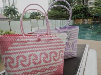 マレーシアで大人気!カラフルキュートでプチプラなカゴバッグ