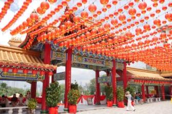 クアラルンプールの美しい中国寺院「天后宮」